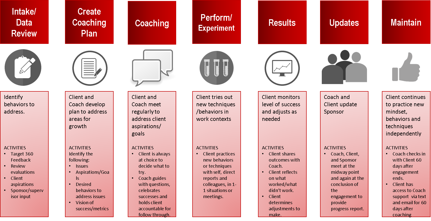 coaching process, firebrand consulting