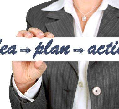 strategic planning, idea, plan, action
